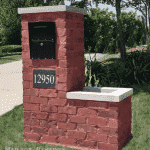 Built in Homer Glen, Illinois by Mailbox Remedies.