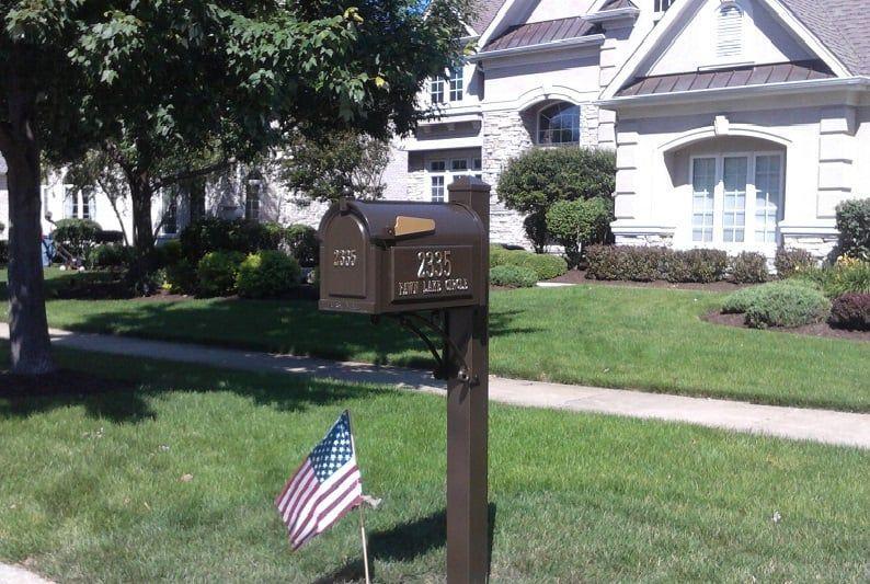 Whitehall Mailbox Installed Naperville