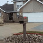 Gentry Mailbox Installation