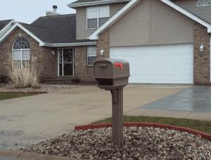 Gentry Mailbox Installation Shorewood