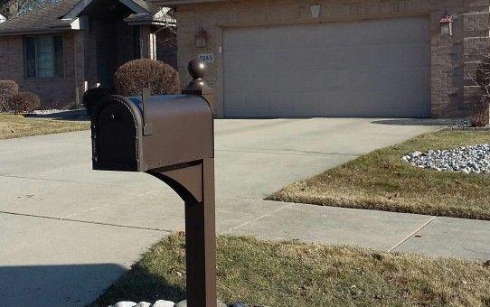 Mailbox Installation Schererville Indiana