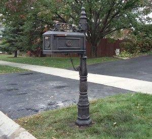 Sand Casted Aluminum Mailbox