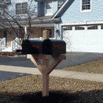 Cedar Mailbox Installation Wheaton Illinois