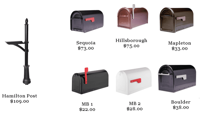 Architectural Mailbox Collection