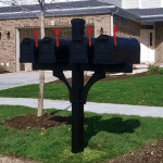 Quad Mailbox Installation Aurora Illinois