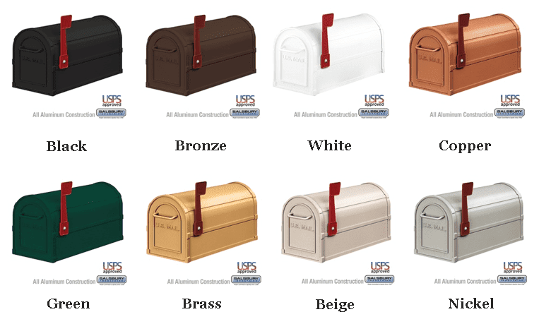 Salsbury Mailboxes offered by Mailbox Remedies