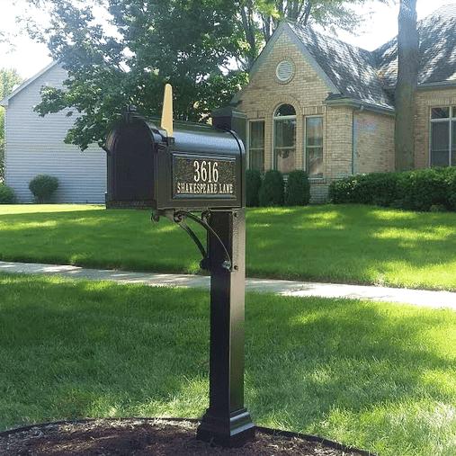 Whitehall Superior Mailbox Installation Naperville