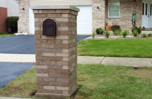 Brick Mailbox Installation Lockport