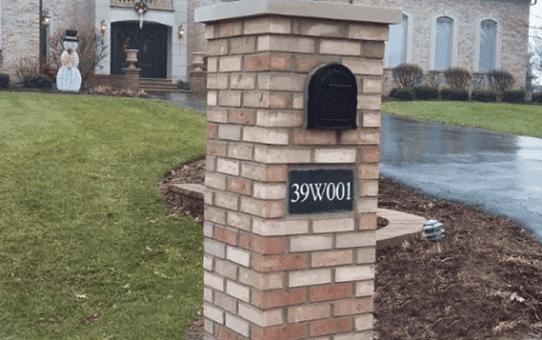 Classic Brick Mailbox Homer Glen
