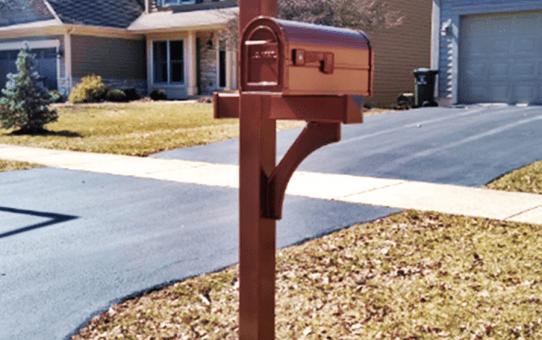 Salsbury Mailbox Installation Naperville